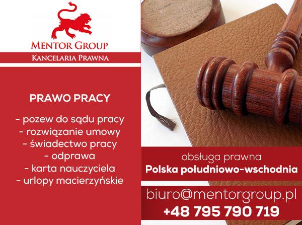 prawo pracy - pomoc prawna rzeszów